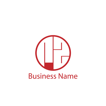 Initial Letter RZ Logo Template Design Logó