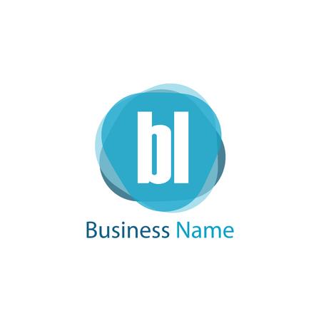 Initial Letter BL Logo Template Design