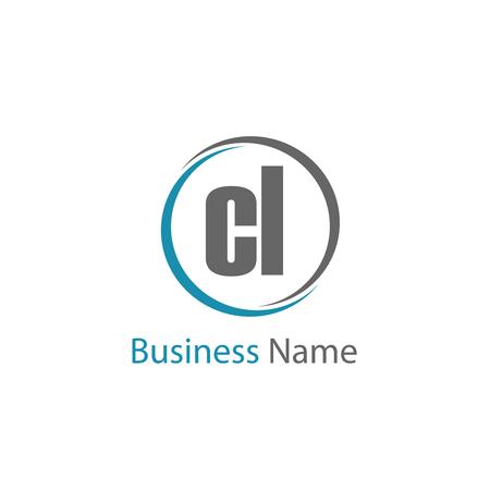 Initial Letter CL Logo Template Design