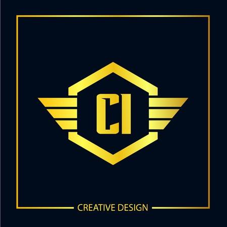 Initial Letter CI Template Design