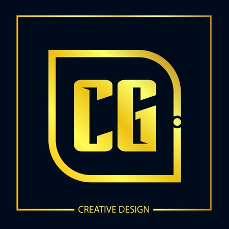 Initial Letter CG Template Design