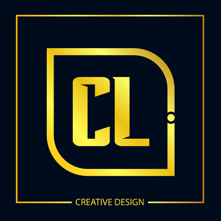 Initial Letter CL Template Design