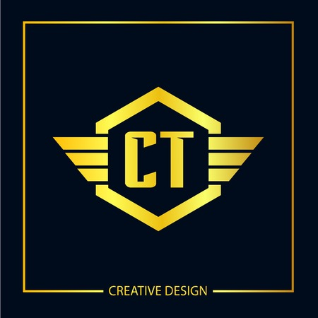 Initial Letter CT Template Design