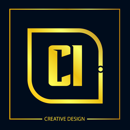 Initial Letter CI Template Design