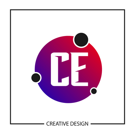 Initial Letter CE Template Design