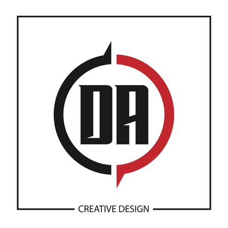 Initial Letter DA Template Design