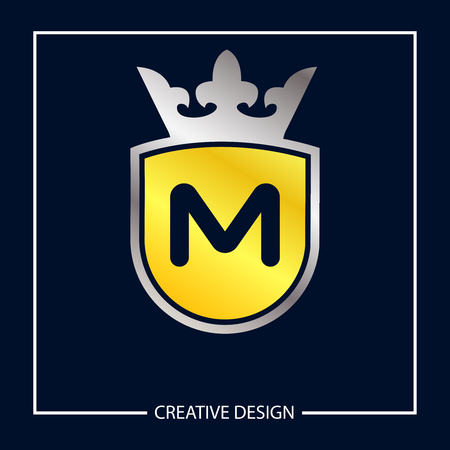 Initial Letter M template vector design 向量圖像