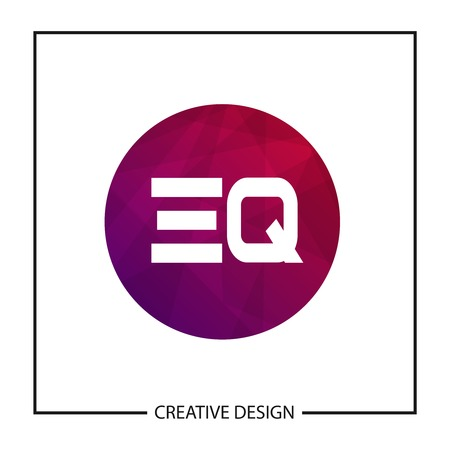 Initial Letter EQ Template Design Illustration