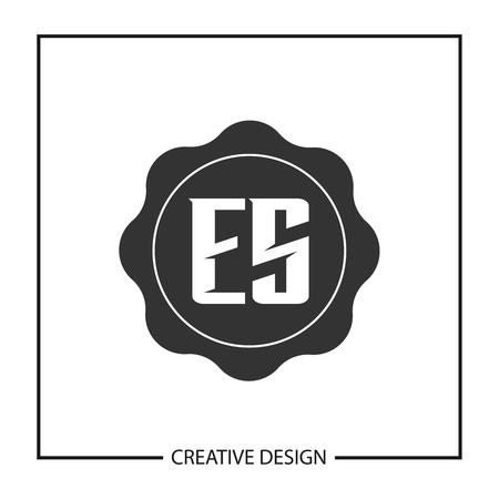 Initial Letter ES Template Design