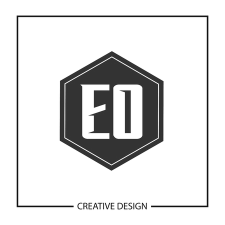 Initial Letter EO Template Design