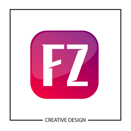 Initial Letter  FZ Template Design