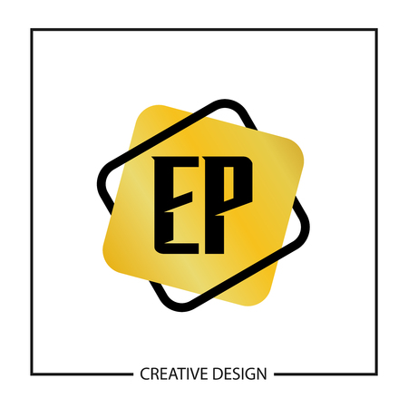 Initial Letter EP  Template Design