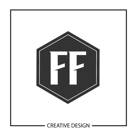 Initial Letter FF  Template Design