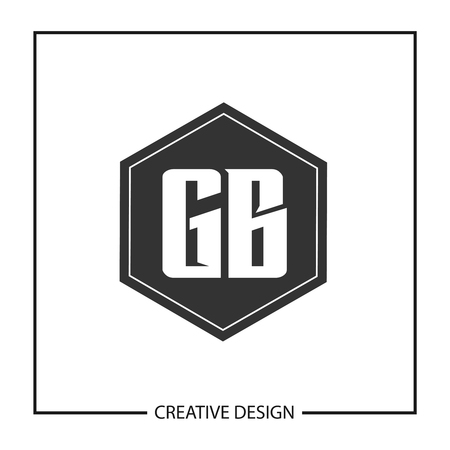 Initial Letter GB  Template Design