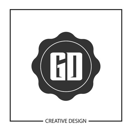Initial Letter GD Template Design