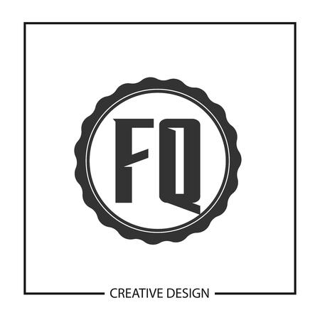 Initial Letter FQ  Template Design