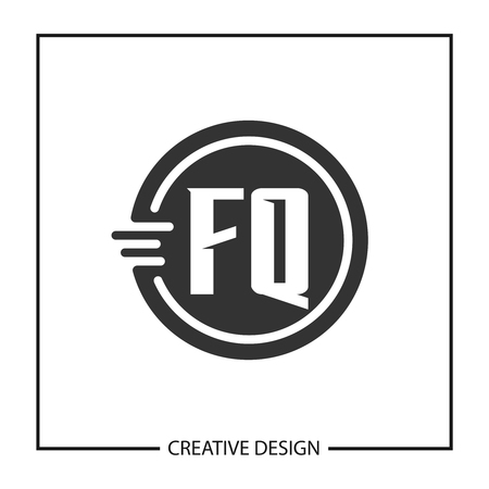 Initial Letter FQ  Template Design