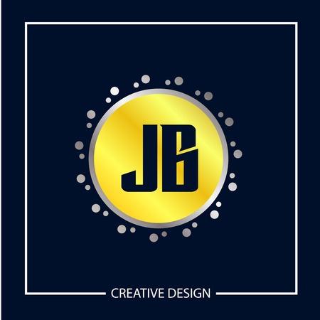 Initial Letter JB Logo Template Design
