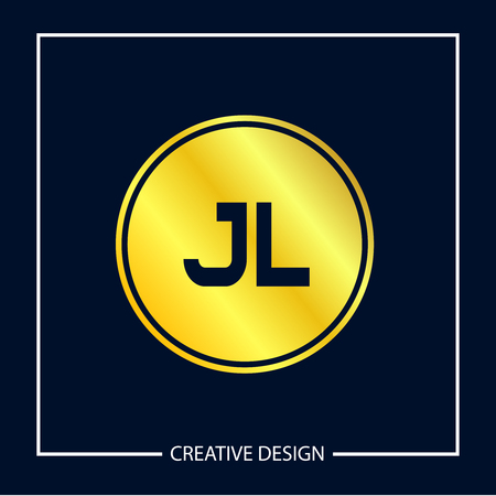 Initial Letter JL Logo Template Design