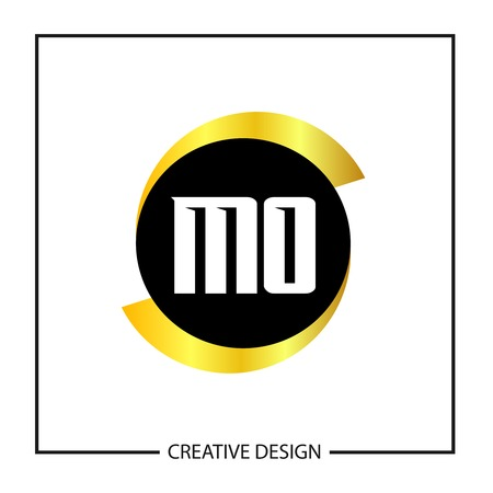 Initial MO Letter Logo Template Design
