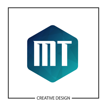Initial Letter MT Logo Template Design