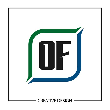 Initial OF Letter Logo Template Design