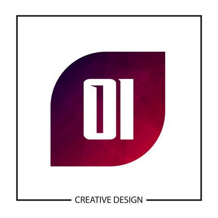 Initial OI Letter Logo Template Design