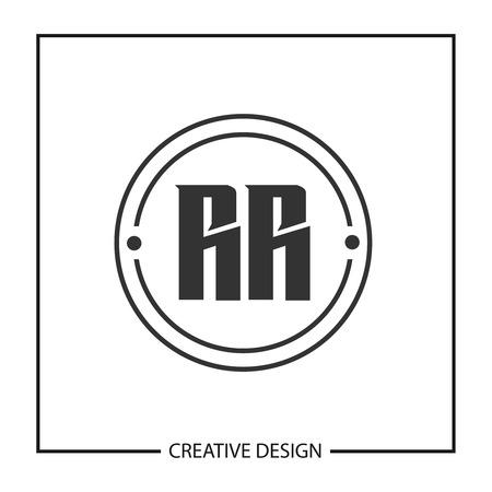 Initial Letter RR Logo Template Design Logo