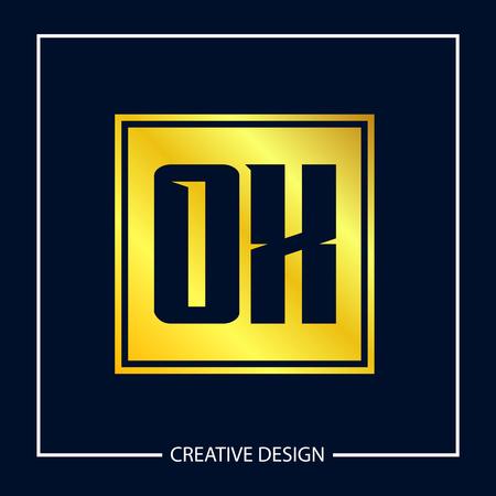 Initial Letter OX Logo Template Design Logo