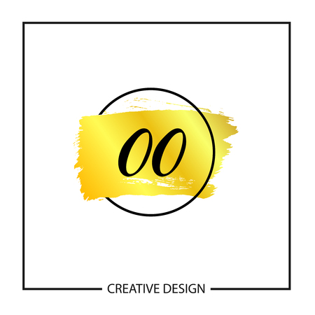 Initial Letter OO Logo Template Design