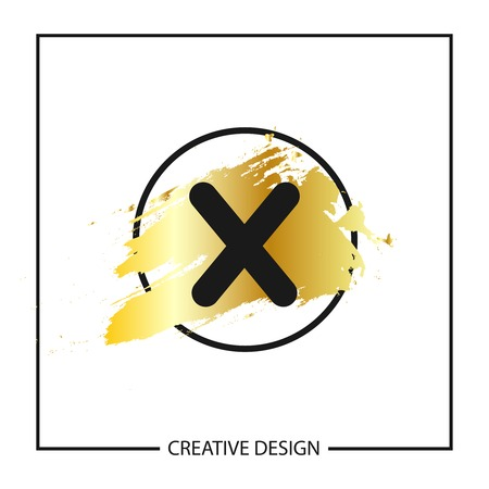 Initial Letter X Logo Template Vector Design