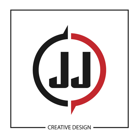 Initial Letter JJ Logo Template Design Illustration