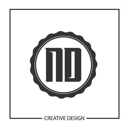 Initial Letter ND Logo Template Design Logo