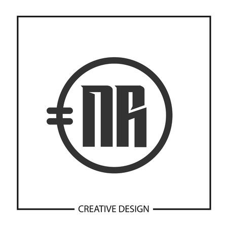 Initial Letter NR Logo Template Design Logo