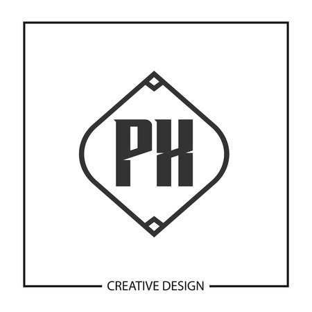 Initial Letter PX Logo Template Design Vector Illustration Illustration