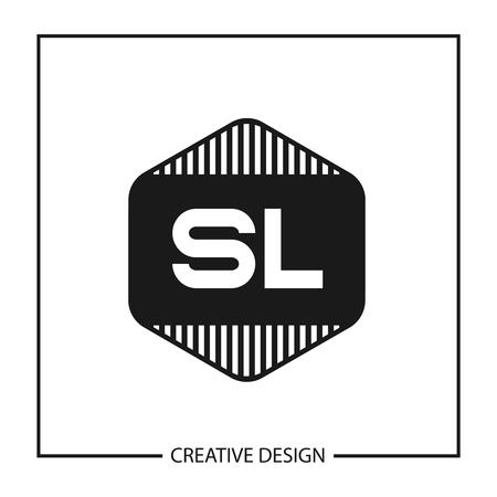 Initial Letter SL Logo Template Design