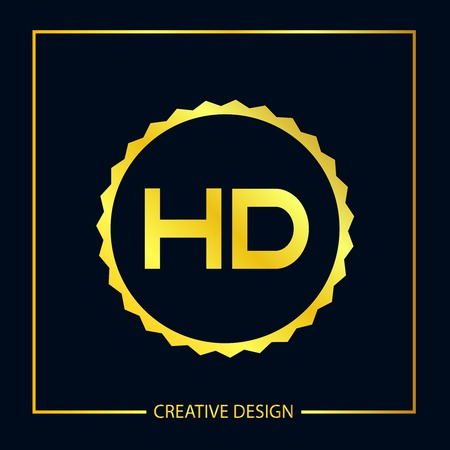 Initial Letter HD Logo Template Design Vector Illustrator