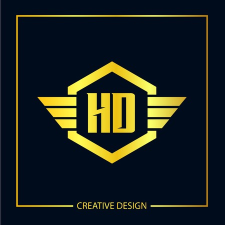 Initial Letter HD Logo Template Design Vector Illustrator