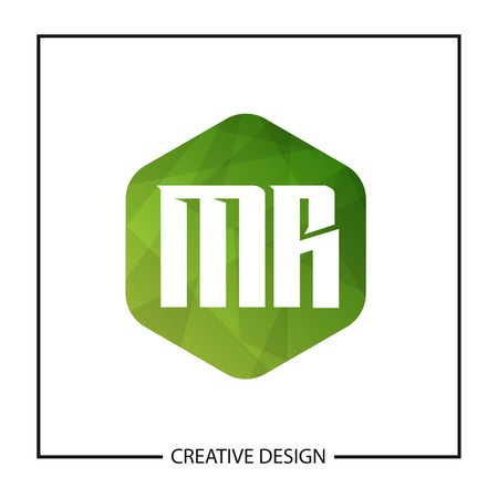 Initial Letter MR Logo Template Design Vector Illustration