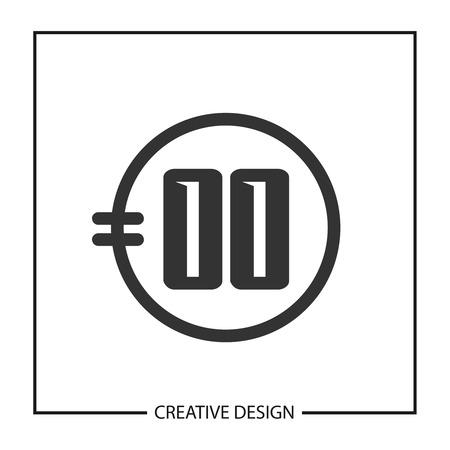 Initial Letter OO Logo Template Design Vector Illustration Logo