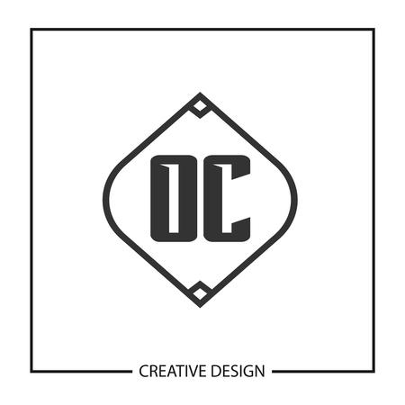 Initial Letter OC Logo Template Design Vector Illustration