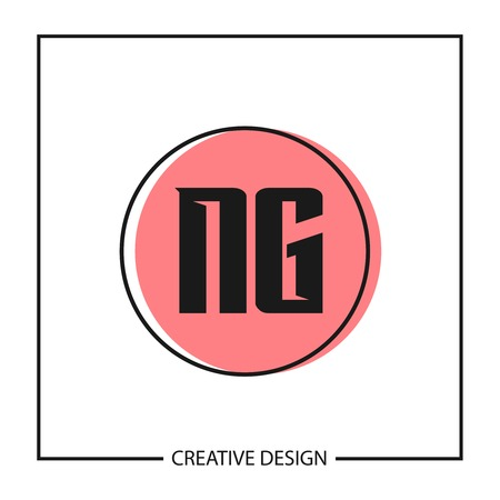 Initial Letter NG Logo Template Design Vector Illustration