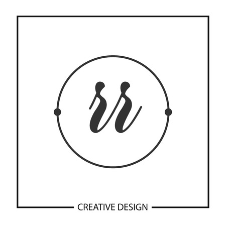 Initial Letter RR Logo Template Design Vector Illustration