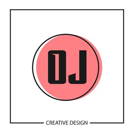 Initial Letter OJ Logo Template Design Vector Illustration Logo