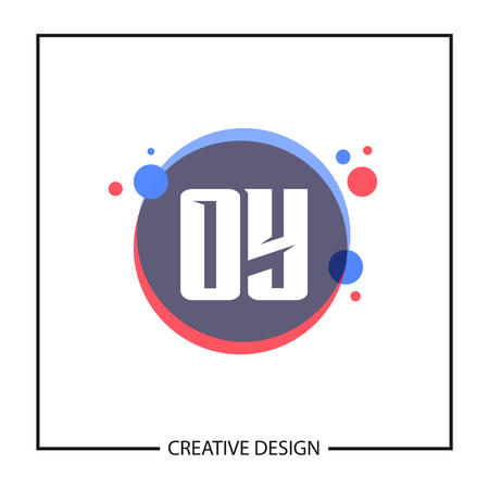 Initial Letter OY Logo Template Design Vector Illustration