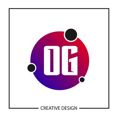 Initial Letter OG Logo Template Design Vector Illustration Logo