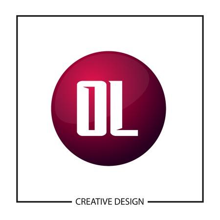 Initial Letter OL Logo Template Design Vector Illustration