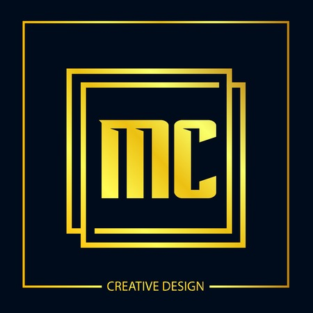 Initial Letter MC Logo Template Design Vector Illustration