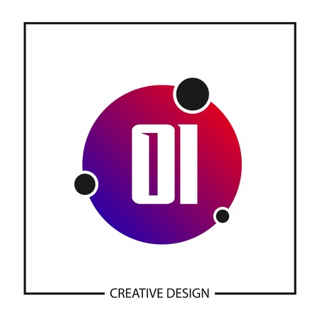 Initial Letter OI Logo Template Design Vector Illustration Banco de Imagens - 113116600