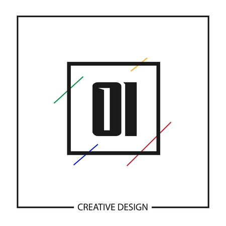 Initial Letter OI Logo Template Design Vector Illustration Banco de Imagens - 113116696